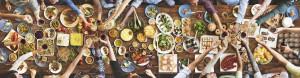Geniessen Dinner Antipasti Tafel Freunde teilen